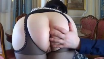 Intense anal sex with my wife Linda