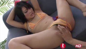 Abella Dangers oiled booty got pounded deep