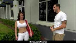 Big Tits Latina Helped Poor daddy xxx porn