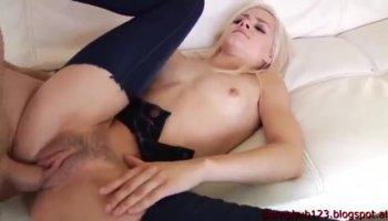 Busty nurse Lauren Phillips getting her juicy tits sucked