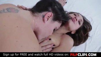 Nasty girls enjoy a single cock in a foursome fuckfest